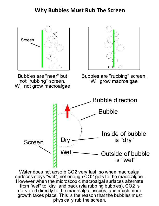 Scrubber flow screen size light circulation ccuart Gallery